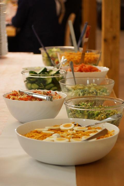 Salad, Eat, Egg, Food, Vegetables, Delicious, Natural
