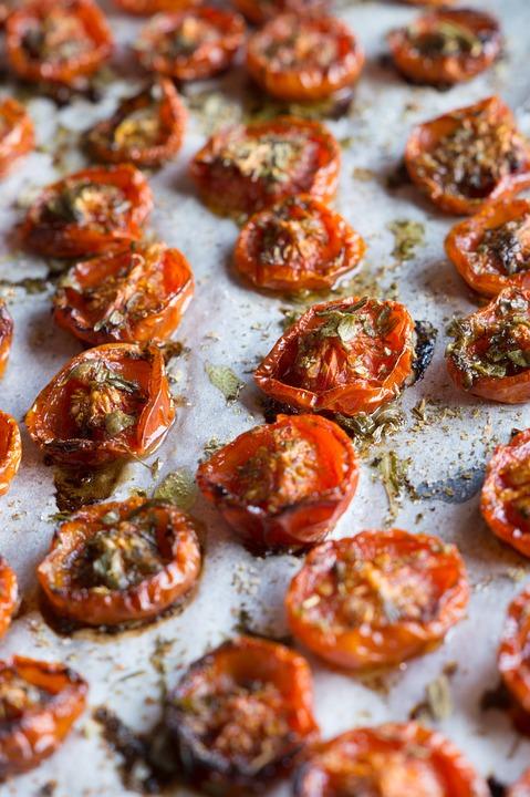Tomatoes, Red, Summer, Mediterranean, Vegetables, Eat