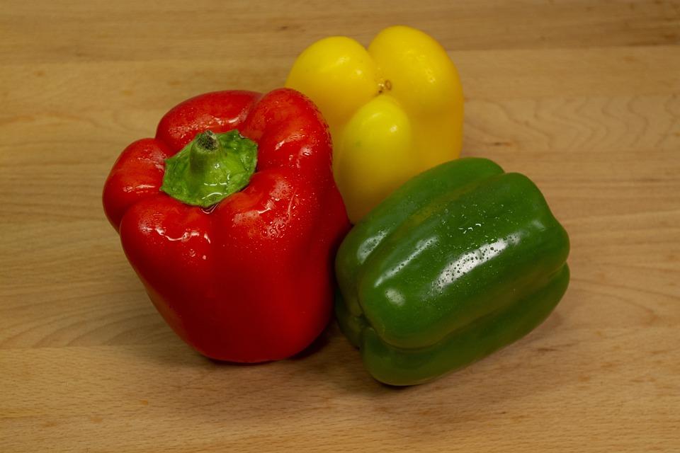 Paprika, Red, Salad, Eat, Cook, Food, Vegetables