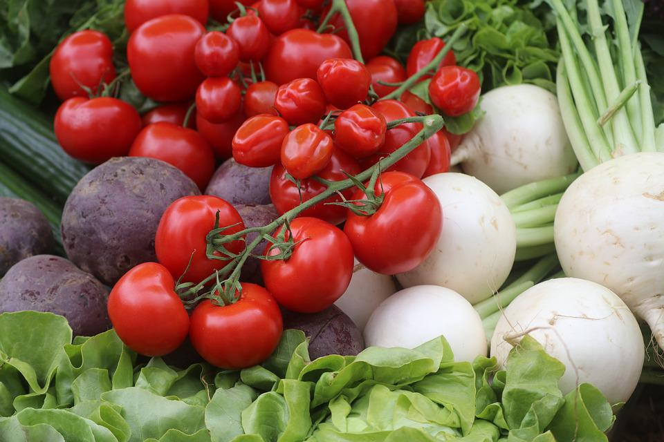 Vegetables, Tomatoes, Food, Cook, Healthy, Fresh, Red
