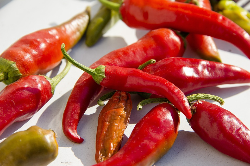 Red, Pepper, Vegetables, Nutrition, Healthy, Chile