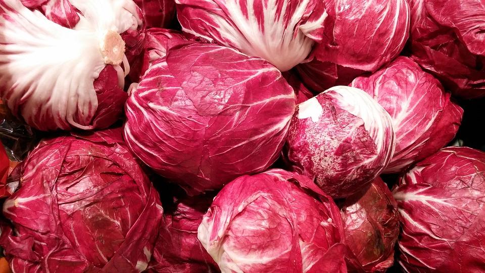 Radicchio Salad, Kohl, Salad, Vegetables, Food, Eat