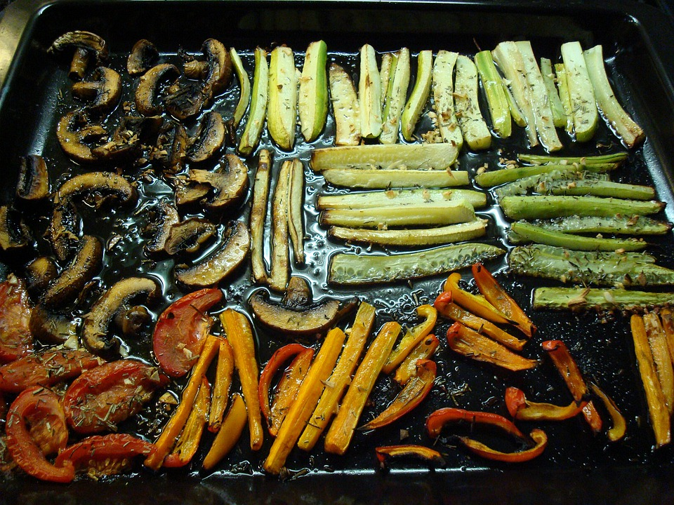 Antipasti, Vegetables, Marinated, Oil, Grilled
