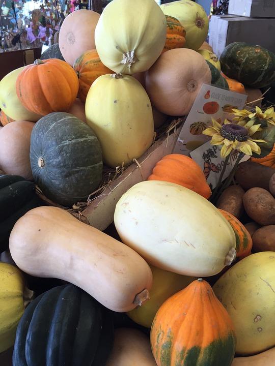 Pumpkin, The Pumpkin, Orange Pumpkin, Vegetables