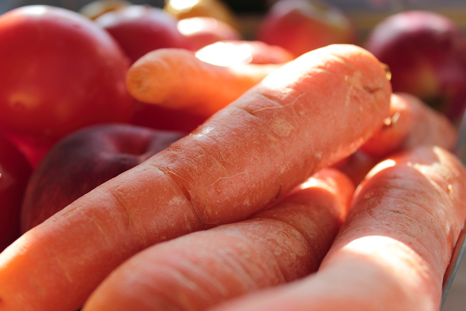 Vegetables, Carrots, Toma, Fresh Vegetables, Organic