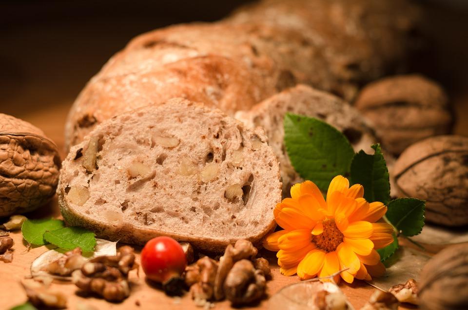 Bread, Nut Bread, Nutrition, Food, Vegetarian, Roughage