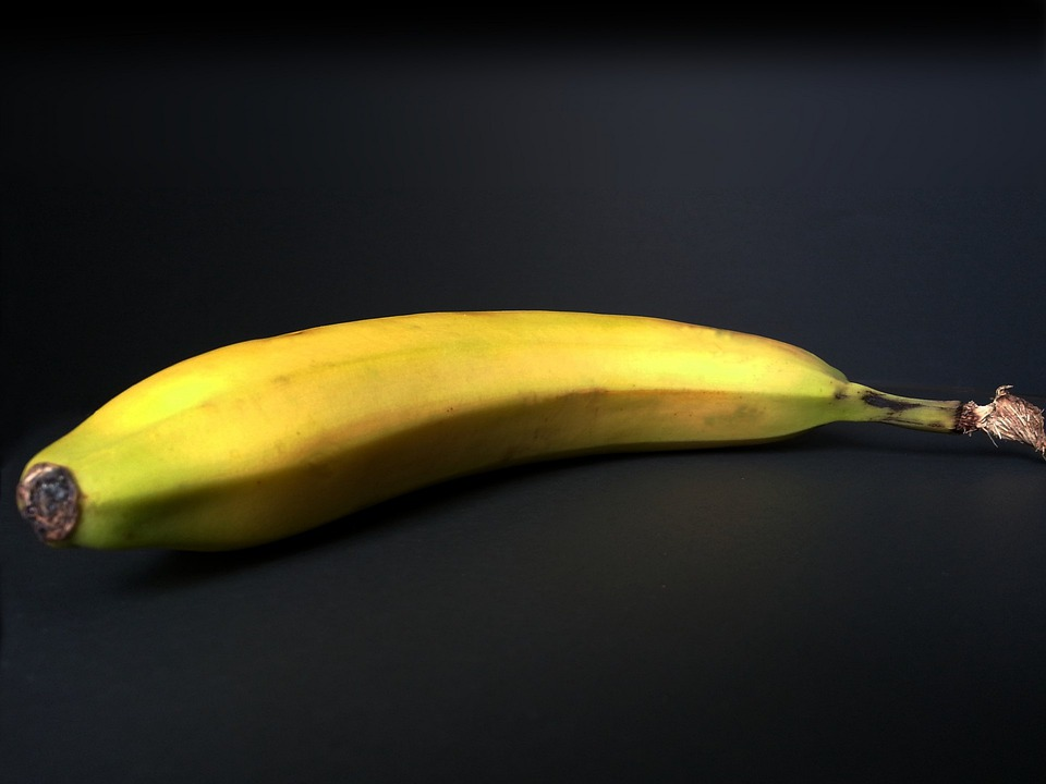 Banana, Fruit, Fruits, Vegetarian, Exotic, Yellow, Food