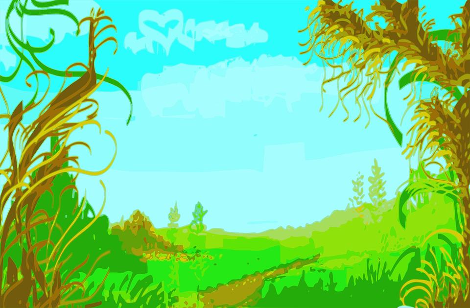 Vegetation, Landscape, Nature