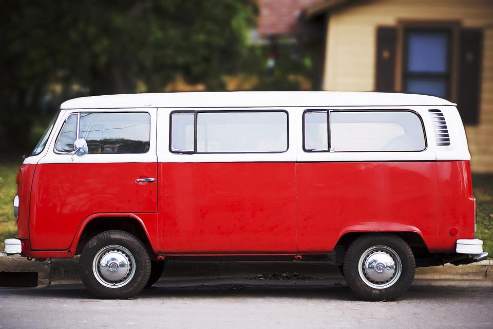 Van, Volkswagen, Car, Vehicle, Automobile, Austin