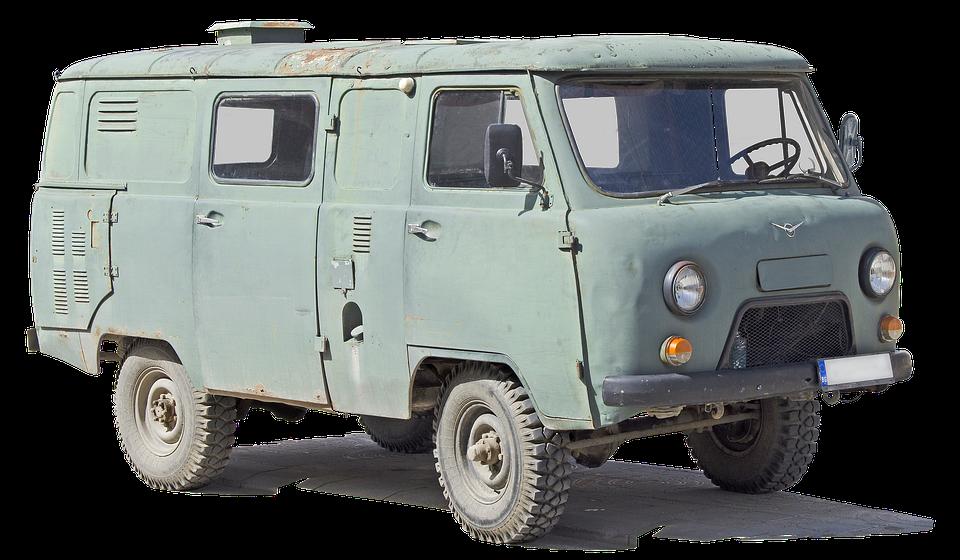 Vehicle, Uaz-452, Russian, Auto, Automobile, Uaz