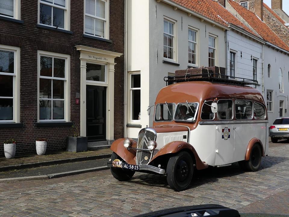 Bus, Oldtimer, Vehicle, History, Classic Car