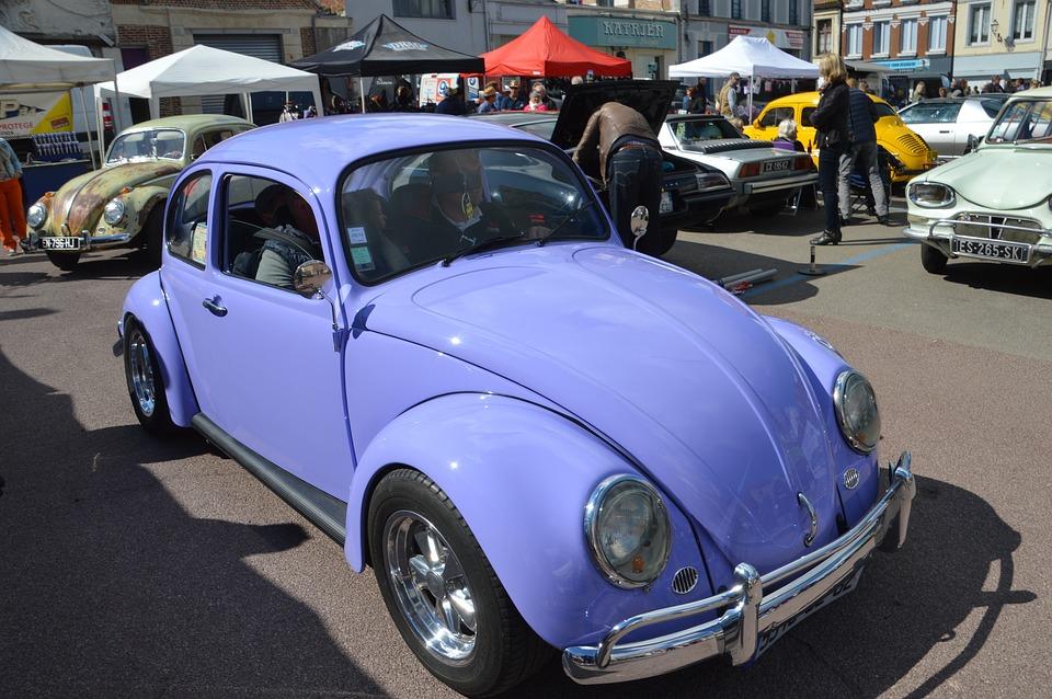 Volkswagen, Ladybug, Car, Automobile, Vehicle, Vw