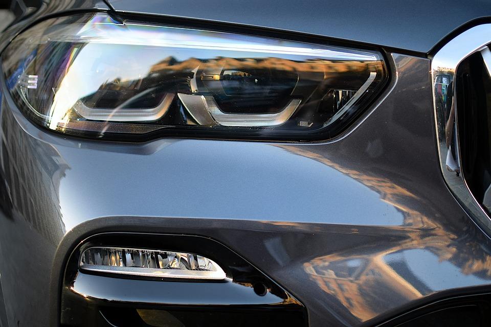 Car, Headlights, Engine, Vehicle, Transportation