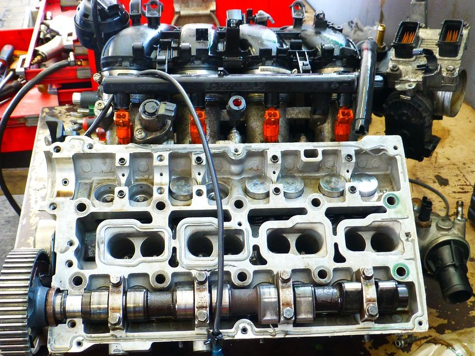 Motor, Vehicle, Workshop, Technology, Metal, Close Up