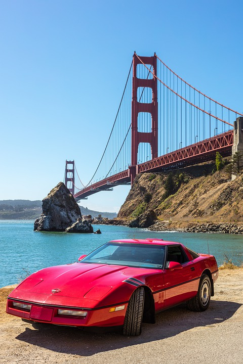 Corvette, Car, Speed, Vehicle, Transportation