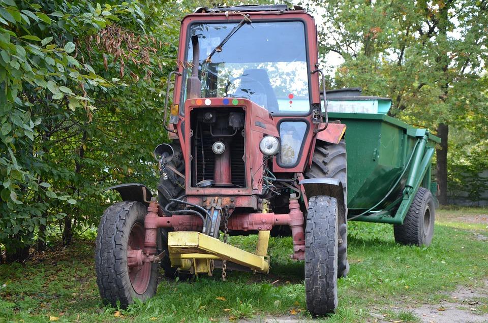 Tractor, Transport, Engine, Vehicle, Farm
