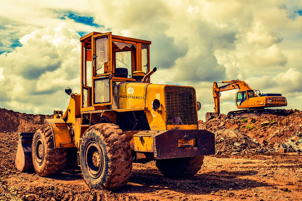 Bulldozer, Excavator, Heavy Machine, Equipment, Vehicle