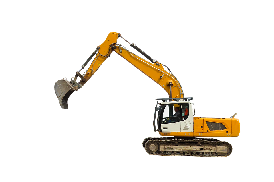 Vehicle, Excavators, Site, Machine, Shovel