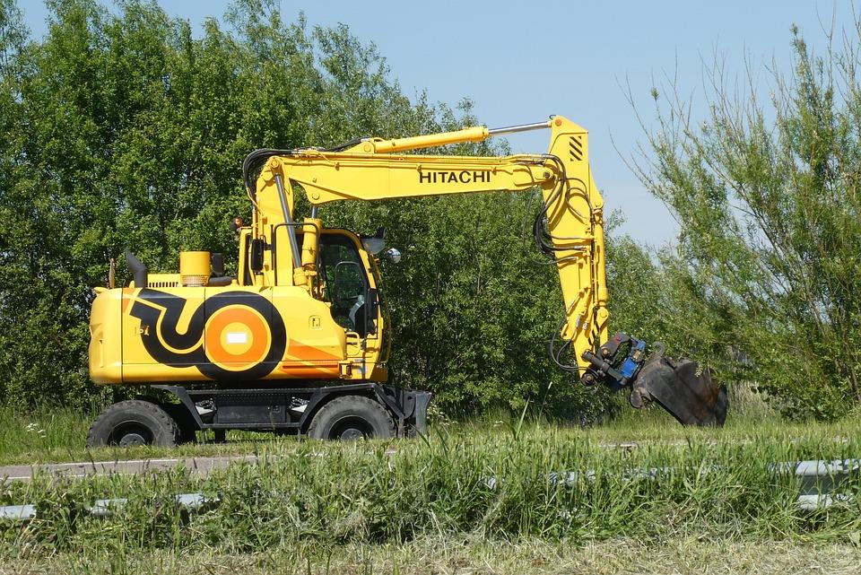 Excavators, Work, Dig, Equipment, Machine, Vehicle