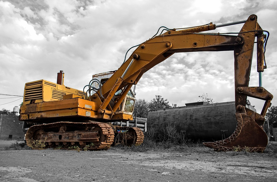 Machine, Shovel, Heavy, Industry, Vehicle, Team