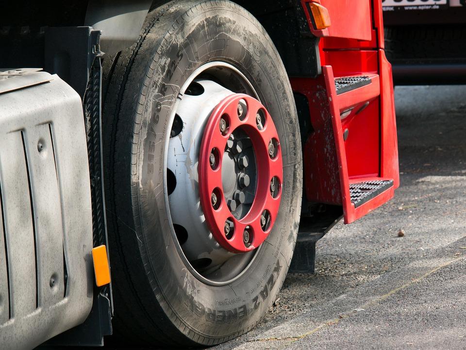 Truck, Mature, Wheel, Auto, Vehicle, Large, Truck Tyres