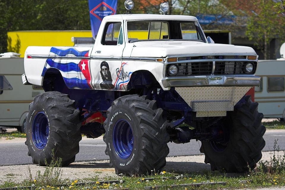 Monster Truck, Truck, Mature, Vehicle, Exhibition, Auto