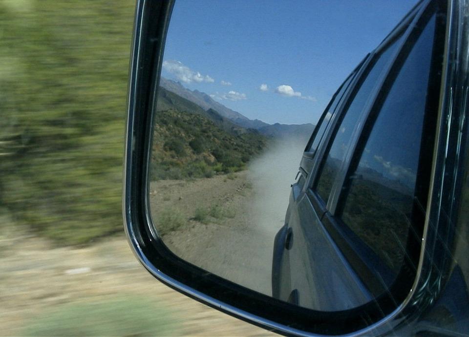 Mirror, Road, Mirrors, Vehicle