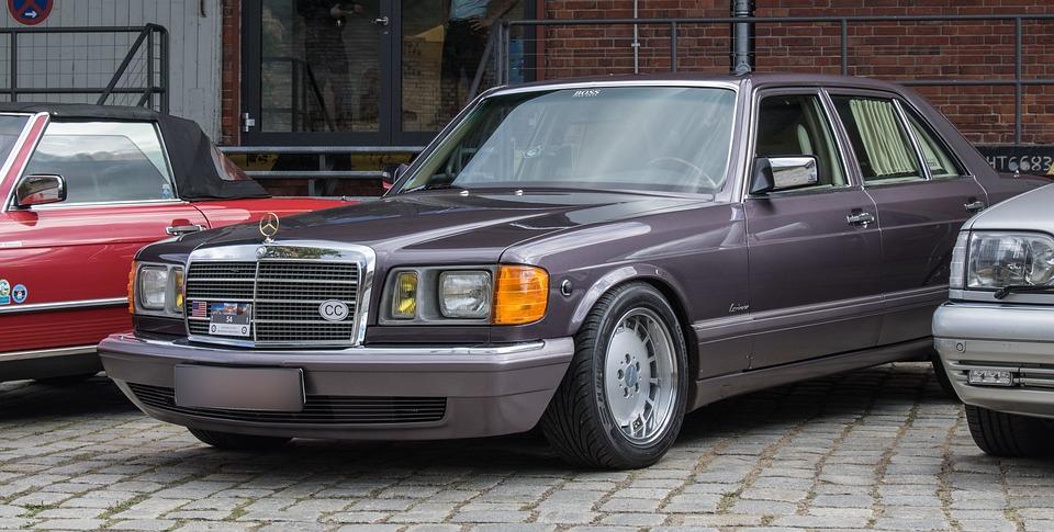 Auto, Mercedes, Oldtimer, S Class, Vehicle