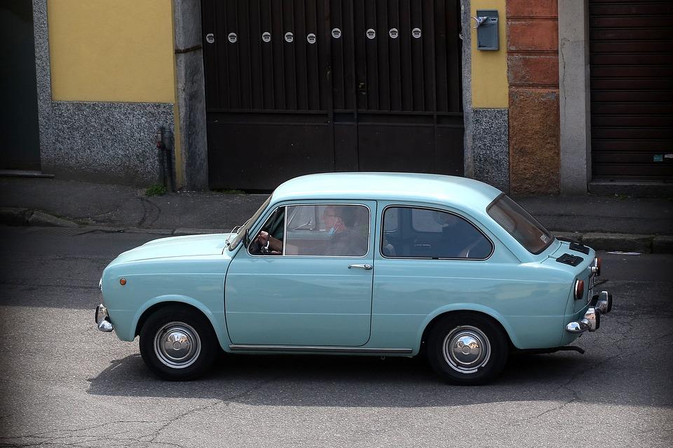 Car, Vehicle, Drive, Road, Street, Retro, Vintage