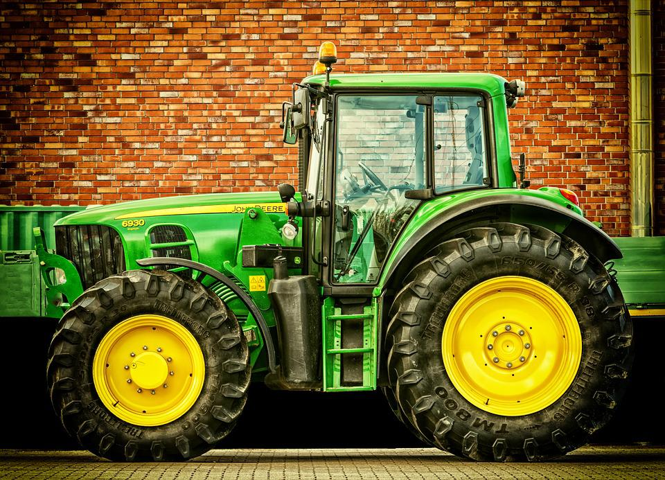 Tractor, Vehicle, Tractors, Agricultural Machine