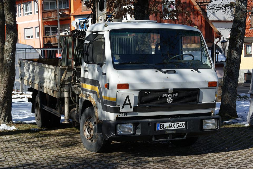Vehicle, Auto, Transport System, Road, One, Truck