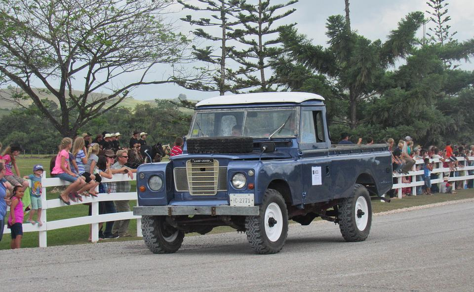 Lan Rover, Truck, Offroad, Antique, Vehicle