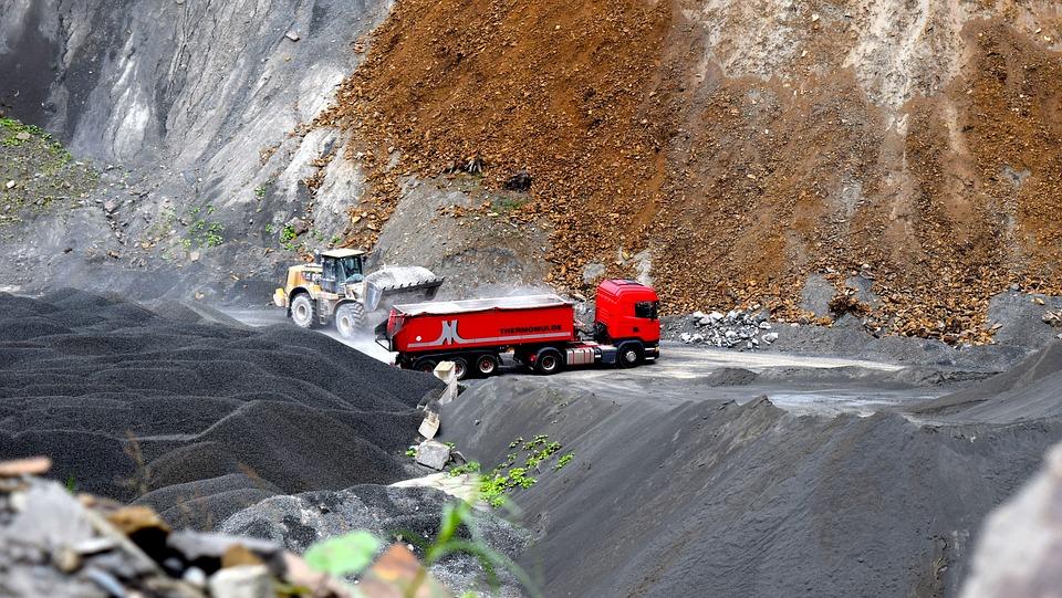 Quarry, Truck, Quarry Operation, Transport, Vehicle