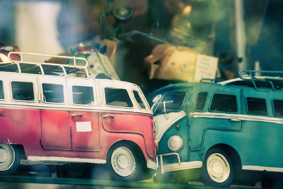 Vw, Combi, Van, Toy, Crash, Vehicle, Accident