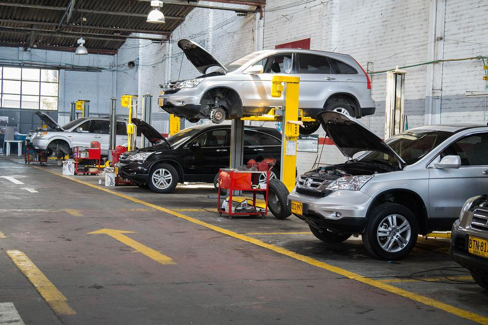 Workshop, Vehicles, Maintenance