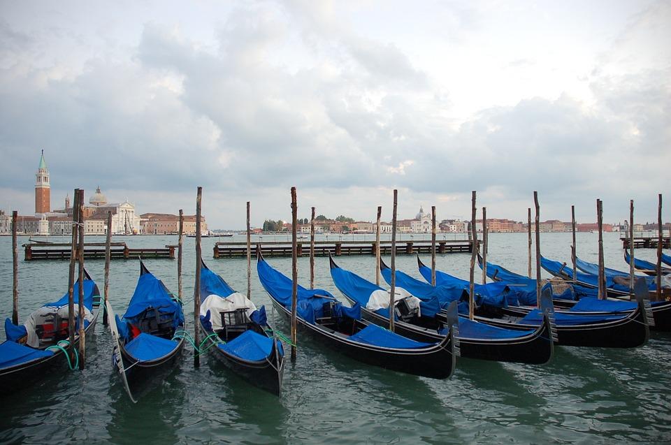 Boat, Water, Gondola, Canal, Travel, Venetian, Lagoon
