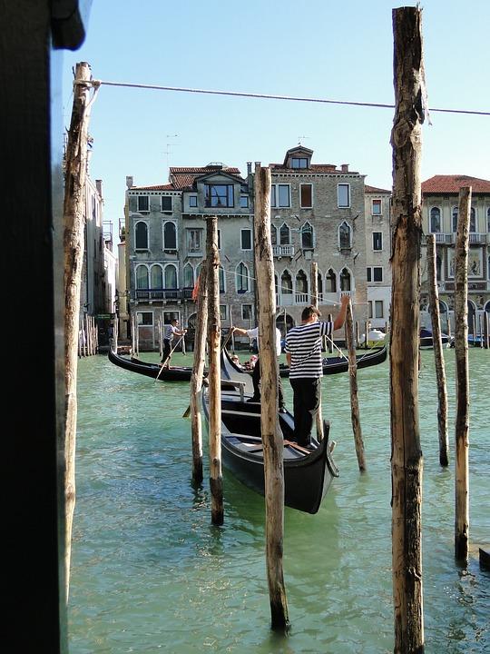 Travel, Waters, Boot, Gondola, Tourism, Venetian, City