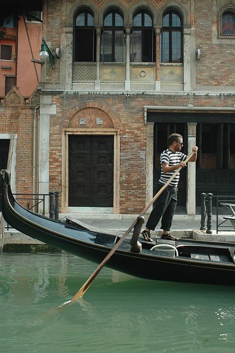 Venice, Boat, Canal, Gondola, Venezia, Venetian