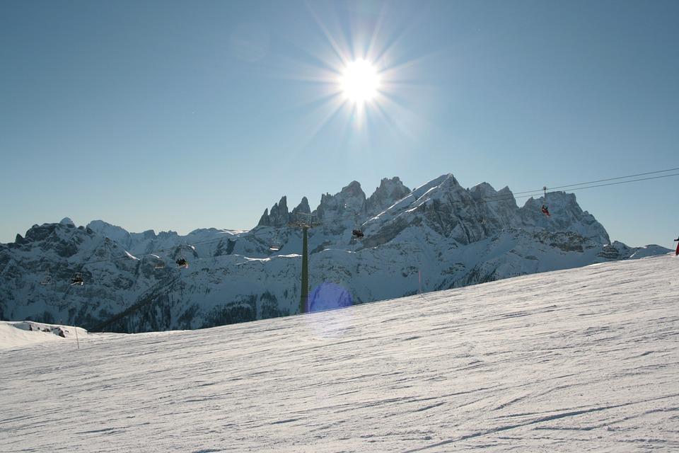 Falcade, Veneto, Snow, Italy, Mountain, Dolomites, Alps