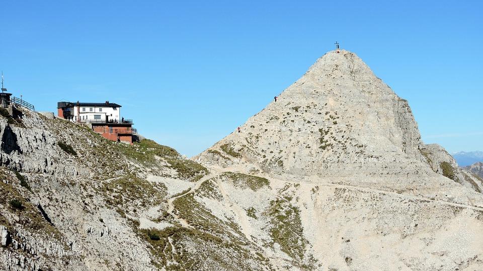 Top, Fraccaroli, Refuge, Summit, Carega, Veneto, Italy