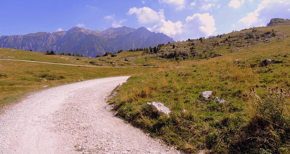 Trail, Road, Mountain, Lessinia, Veneto, Italy
