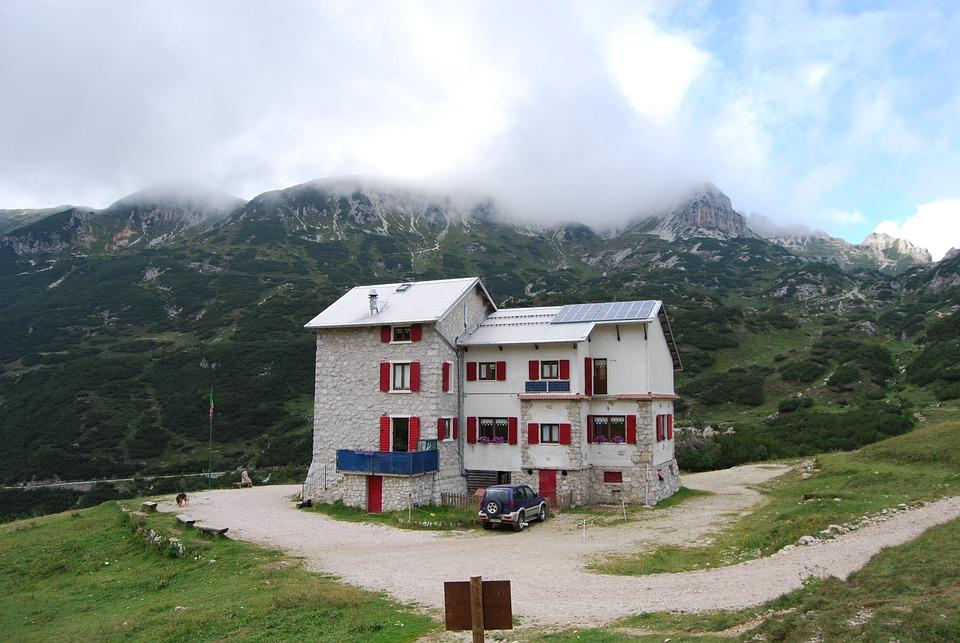 Refuge, Mountain, Mountains, Prealpi, Veneto, Italy