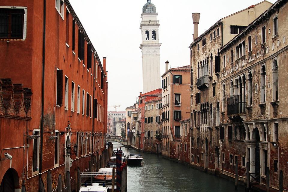 Italy, Venice, Venezia, Canale Grande, Water, Boats