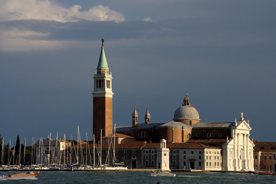 Venice, Italy, Church, San Giorgio Maggiore