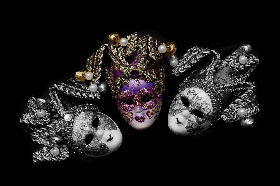 Mask, Carnival, Venice, Mysterious, Close, Romance