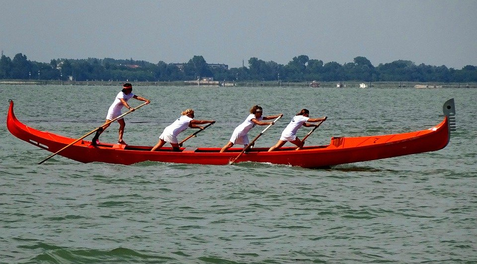 Women's Power, Rowing, Venice, Tradition, Culture