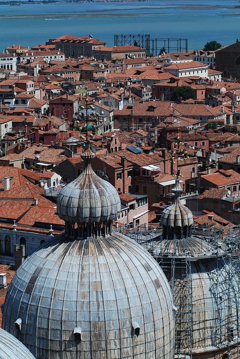 Venice, Roof, Building, Architecture, Tourist, House