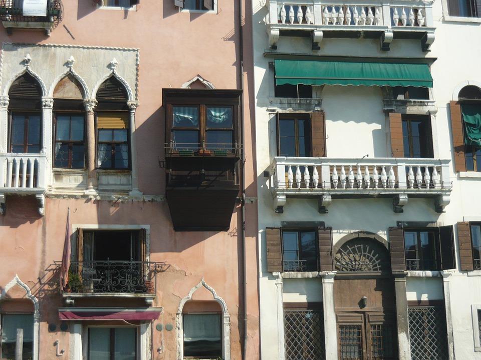 Venice, Italy, Balcony