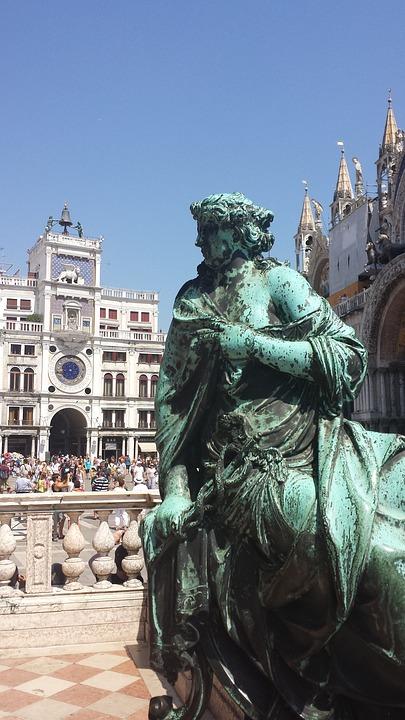 Venice, Saint Mark's Square, Italy, Monument, History