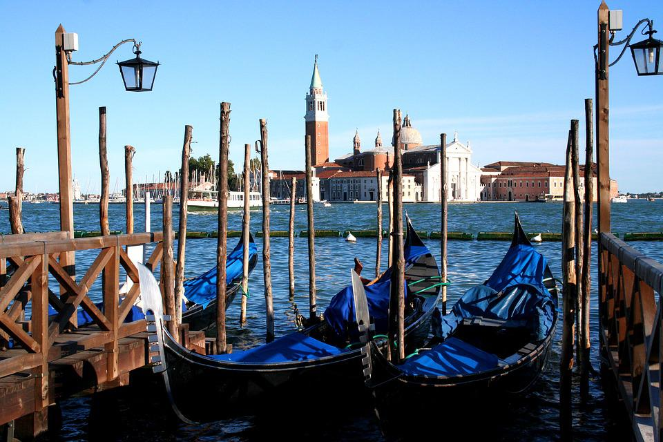 Venice Italy, Gondolas, Vaporetto, Grand Canal, Water